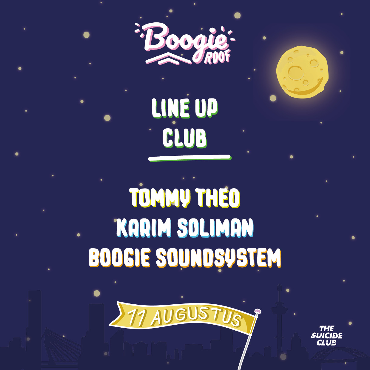 LineUp_Club_boogieroof_boogieexpress_suicideclub