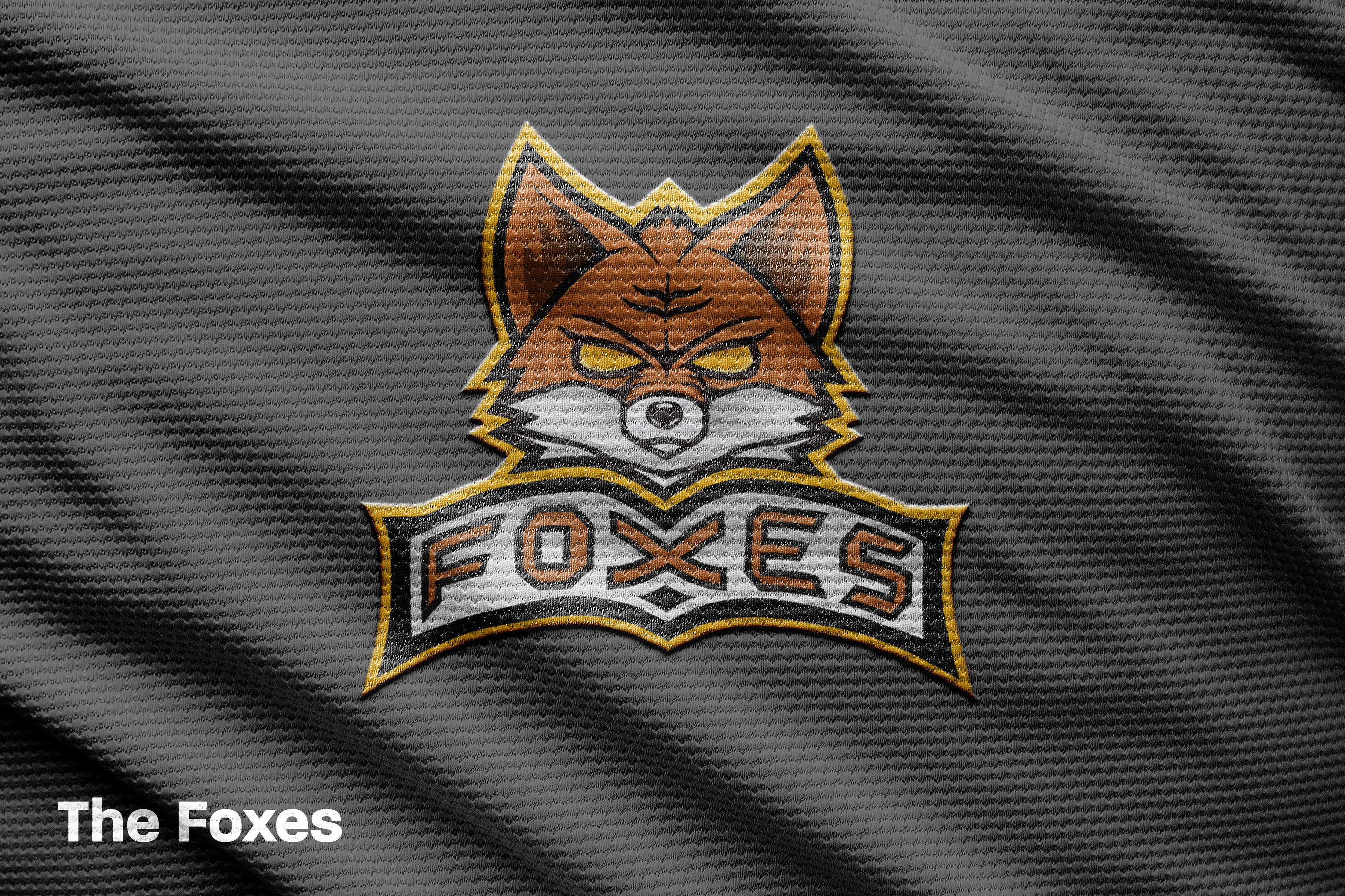 Foxes mock up